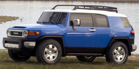 2007 Toyota FJ Cruiser BASE WhiteVoodoo Blue V6 40L  129333 miles FJ Cruiser trim CD Player