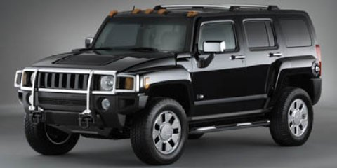 2007 HUMMER H3 SUV SilverBlack V5 37L Manual 120204 miles NEW ARRIVAL THIS H3 WILL SELL FAST