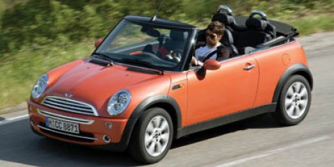 2007 MINI Cooper Convertible YellowGray V4 16L Automatic 128011 miles Check out this 2007 MIN