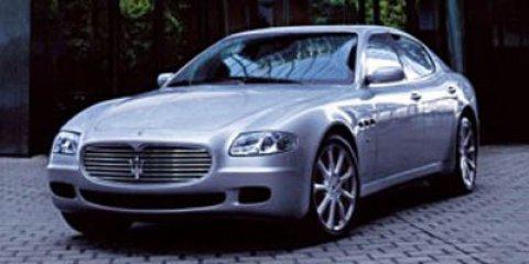 2007 Maserati Quattroporte Grigio Alfieri MetallicCuoio Leather V8 42L Automatic 34798 miles