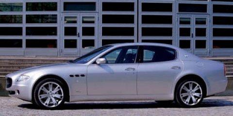 2006 Maserati Quattroporte Sport GT Grigio Touring MetallicNero V8 42L Manual 40628 miles  Lo