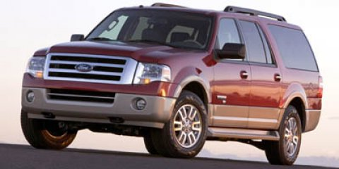 2007 Ford Expedition Limited BlackCharcoal Black V8 54L Automatic 102585 miles  Traction Contr
