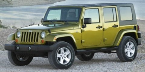 2007 Jeep Wrangler Unlimited X Rescue Green Metallic V6 38L Manual 124535 miles  Traction Cont