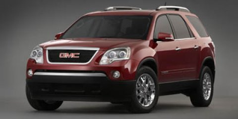 2007 GMC Acadia SLT Red V6 36L Automatic 177421 miles  Front Wheel Drive  Traction Control
