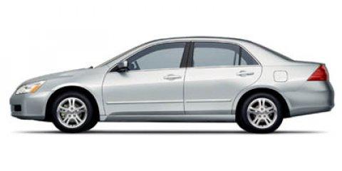 2007 Honda Accord Sdn LX SE 0 V4 24L Automatic 0 miles  Front Wheel Drive  Engine Immobilizer
