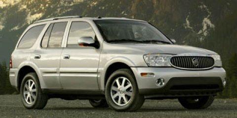 2007 Buick Rainier CXL Black OnyxGray V6 42L Automatic 139028 miles  PAINT SOLID STD  PDB