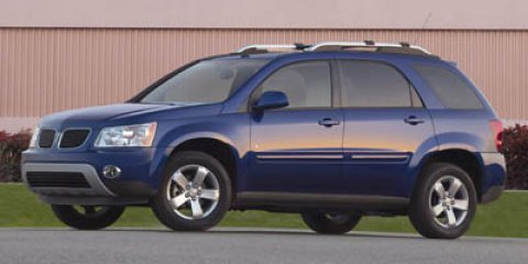 2007 Pontiac Torrent BASE Black V6 34L Automatic 69524 miles  Traction Control  Stability Con