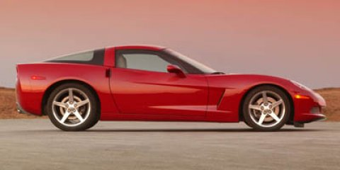 2007 Chevrolet Corvette Base Red V8 60L 6-Speed 34385 miles  LockingLimited Slip Differential
