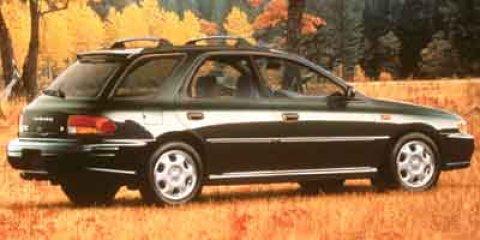 2002 Subaru Impreza Wagon TS Sport Aspen White V4 25L Automatic 180652 miles  All Wheel Drive
