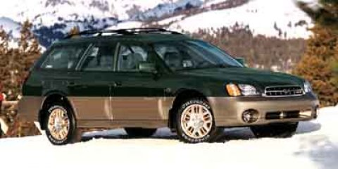 2002 Subaru Legacy Wagon Outback with All Weather Pkg  V4 25L Automatic 108550 miles  Body-co