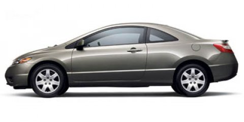 2007 Honda Civic Cpe LX Galaxy Gray Metallic V4 18L Manual 98768 miles  Front Wheel Drive  Ti
