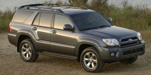 2007 Toyota 4Runner SR5 BlackLIGHT GRAY V6 40L Automatic 81231 miles This 2007 Toyota 4Runner
