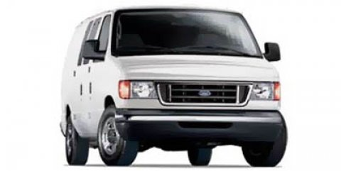 2006 Ford Econoline Cargo Van MEDIUM FLINT VINYL BUCKETS Oxford WhiteMedium Flint V8 54L Automat