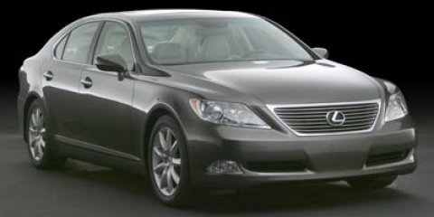 2007 Lexus LS 460 Silver Ice MetallicBlack V8 46L Automatic 81495 miles STUNNING LOCAL TRADE L