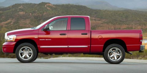 2007 Dodge Ram 1500 Red V8 57L Automatic 104890 miles  Rear Wheel Drive  Tires - Front All-Se