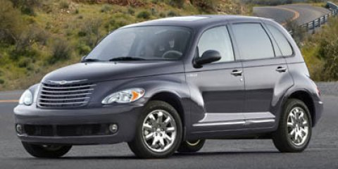 2007 Chrysler PT Cruiser Touring Cool Vanilla V4 24L  53322 miles 4D Sport Utility and White