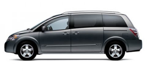 2007 Nissan Quest S Galaxy Black Metallic V6 35L Automatic 135504 miles New Arrival CarFax