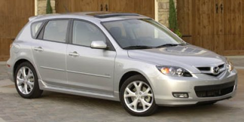 2007 Mazda Mazda3 s Grand Touring Crystal White PearlBlack V4 23L Automatic 89588 miles The Sa