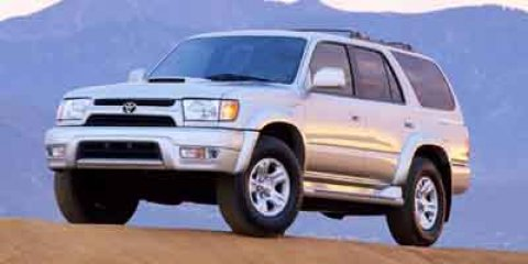 2001 Toyota 4Runner SR5 Silver V6 34L Automatic 187562 miles  Rear Wheel Drive  Traction Cont