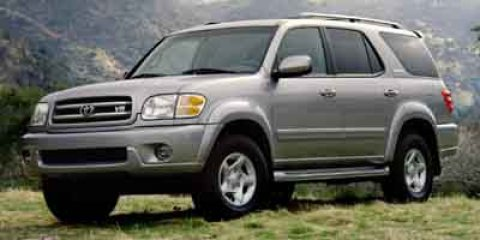 2001 Toyota Sequoia SR5  V8 47L Automatic 240280 miles Scores 18 Highway MPG and 14 City MPG