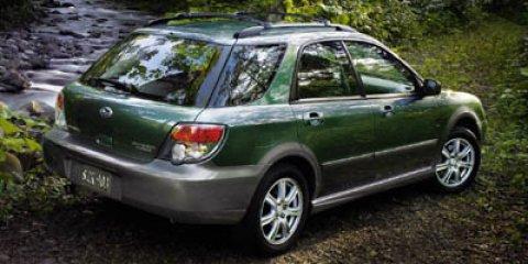 2007 Subaru Impreza Wagon Outback Sport Sp Ed Newport Blue Pearl V4 25L Automatic 159093 miles