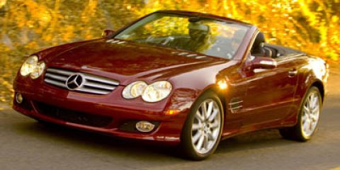 2007 Mercedes SL-Class SL550 Convertible  RWD BlackBeige V8 55L Automatic 55472 miles LOCAL T