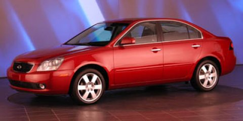 2007 Kia Optima LX Burgundy V6 27L Automatic 50590 miles The Kia Optima is a remarkably good c