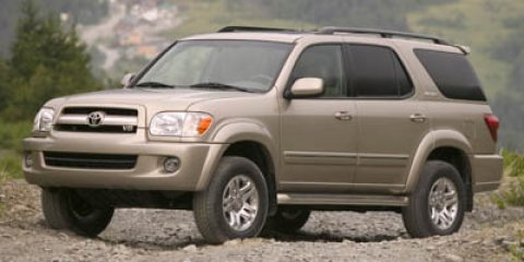 2007 Toyota Sequoia Limited Desert Sand MicaLight Charcoal V8 47L Automatic 89552 miles Look a