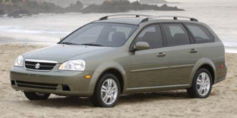 2007 Suzuki Forenza Wagon Titanium Silver MetallicGray V4 20L Manual 54231 miles CLEAN CARFAX