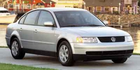 2001 Volkswagen Passat GLS Satin Silver Metallic V4 18L Manual 108882 miles  Turbocharged  Fr