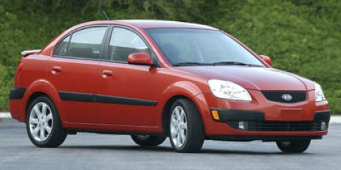 2007 Kia Rio Tropical Red V4 16L Automatic 74950 miles Hundreds of Pre-Owned Vehicles to choo