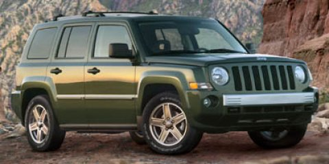 2007 Jeep Patriot Limited Stone White V4 24L Automatic 132025 miles  Traction Control  Stabi