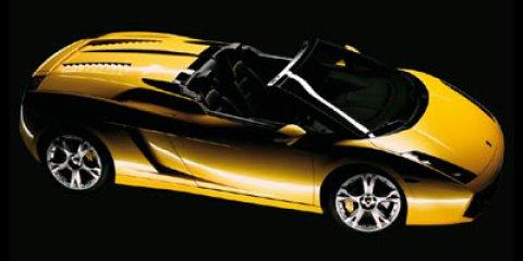 2008 Lamborghini Gallardo 2DR CONV SPYDER Bianco Monocerus V10 50L Manual 25895 miles  Lockin