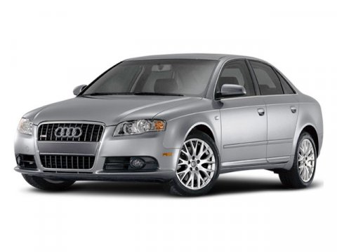 2008 Audi A4 20T ICE SILVER METBLACK INTERIOR V4 20L Variable 82585 miles  Turbocharged  Fro