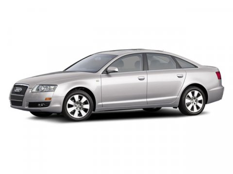 2008 Audi A6 4DR SDN QTR ATT Light Silver Metallic V6 32L Automatic 106385 miles  Traction Con