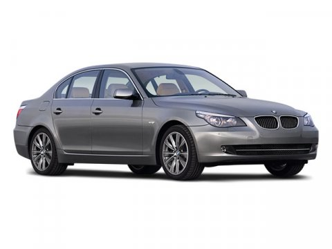 2008 BMW 5 Series 550i Platinum Gray MetallicBlack V8 48L 6-Speed 69093 miles 4D Sedan Black