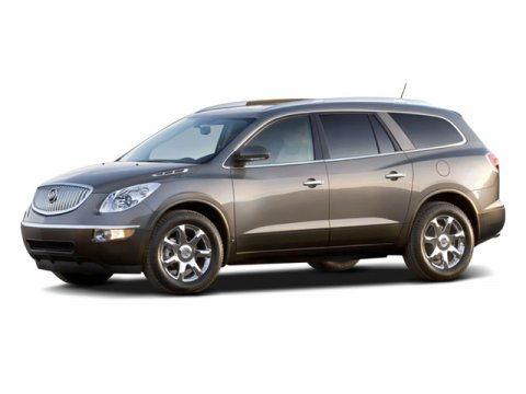 2008 Buick Enclave CXL Red V6 36L Automatic 117715 miles FWD Inherits the road with a sure-f