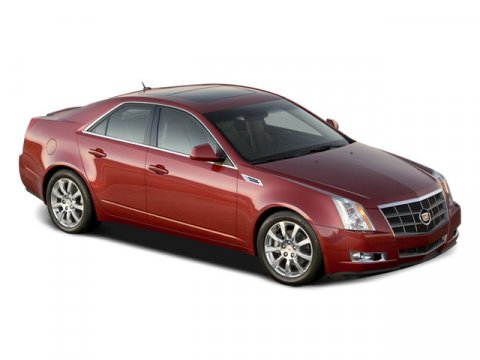 2008 Cadillac CTS RWD w1SA Crystal Red Tintcoat V6 36L Automatic 108454 miles  Rear Wheel Dr
