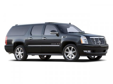 2008 Cadillac Escalade ESV 4DR SUV Black Raven V8 62L Automatic 95385 miles AWD and Leather