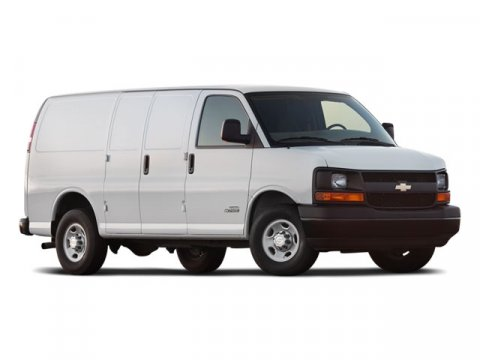 2008 Chevrolet Express Cargo Van Van 3d Summit White V8 53L Automatic 158217 miles Very clean