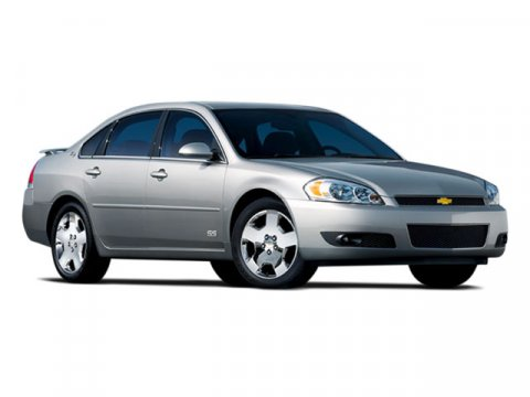 2008 Chevrolet Impala LT SILVERSTONE METALLICBLACK LEATHER V6 35L Automatic 88283 miles SUNROO