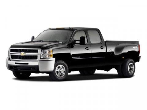 2008 Chevrolet Silverado 3500HD Black V8 66L Automatic 42065 miles 4WD Turbocharged Cherry H