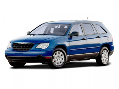 2008 Chrysler Pacifica Touring Bright Silver Metallic V6 40L Automatic 63609 miles  Traction