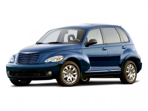 2008 Chrysler PT Cruiser Inferno Red Crystal PearlPastel Slate Gray V4 24L Automatic 89427 mile