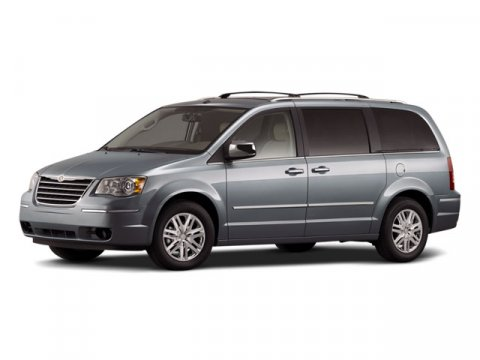 2008 Chrysler Town  Country LX Inferno Red Crystal PearlMedium Slate GrayLight Shale V6 33L Au