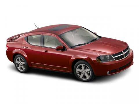 2008 Dodge Avenger SE Red V4 24L Automatic 182832 miles  Front Wheel Drive  Tires - Front All