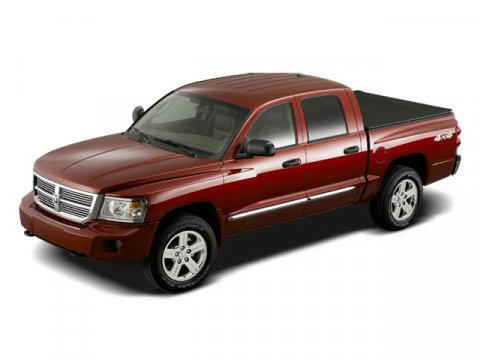 2008 Dodge Dakota Laramie Red V8 47L Automatic 53714 miles 4WD Red and Ready All the right i