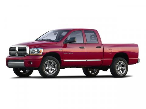2008 Dodge Ram 1500 Red V8 57L Automatic 64268 miles HEMI 57L V8 Multi Displacement and 4WD