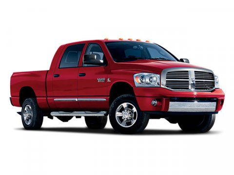 2008 Dodge Ram 2500 SLT Red V8 57L Automatic 65801 miles Low Miles Dodge Ram 2500 Mega Cab Of