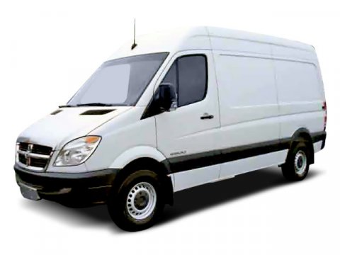 2008 Dodge Sprinter VAN 2500 140WB Arctic White V6 30L Automatic 94455 miles  Turbocharged  T
